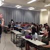 穿越國界的相遇~國際商務系學生與美國、日本交換學生的對談