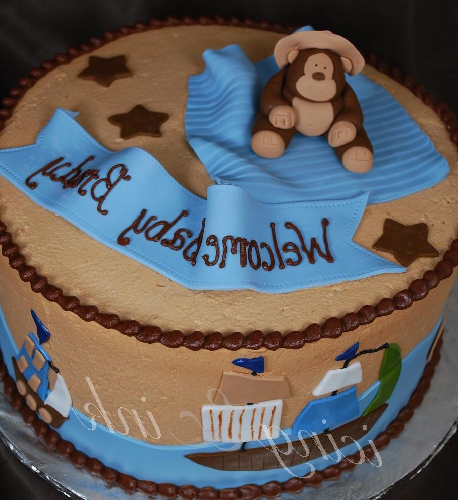 NWR baby shower cake cupcake