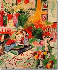 Matisse. Niña leyendo. 1905-1906