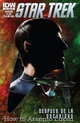 """Actualización 8/10/2015: actualizo con el numero 22 y 23 de Star Trek Ongoing – Las Nuevas Aventuras, finalizando así la historia con los echos posteriores a """"En la Oscuridad"""""""