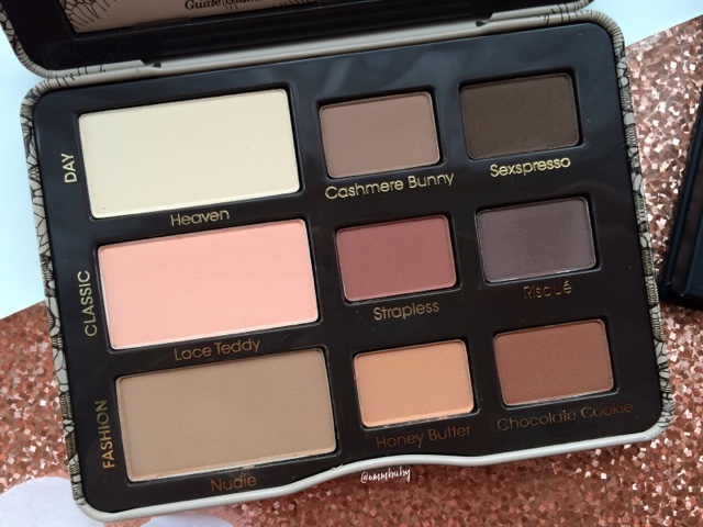 beautiful matte eyeshadow palette favourite NC40 too faced