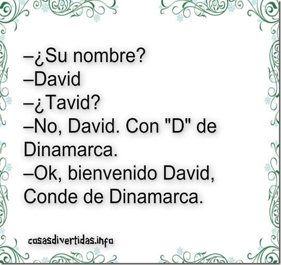 DAVID CON DE