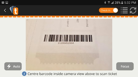 Ticketebo Door Scan Manager - screenshot
