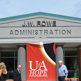 Mr. J.W. Rowe Administration Building Dedication