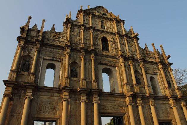 Ruins of St. Paul's at Macau