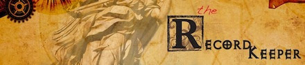 The Record Keeper banner
