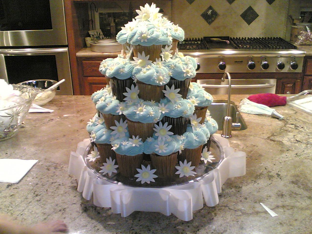 cupcake wedding cake 13