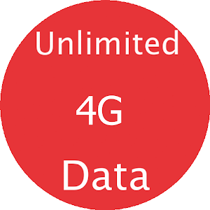 Unlimited 4G Data app for android