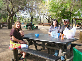 One of the nice picnic areas in Kruger, to take a break from hunting for animals.