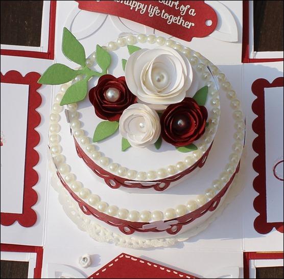 Explosion Box Love Wedding Hochzeit Cake 006b