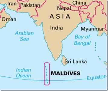 IndiaMaldives RelationsOperation Cactus PMF IAS UPSC GEOGRAPHY - Maldives map india