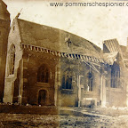 Damaged Church in Zeebrugge