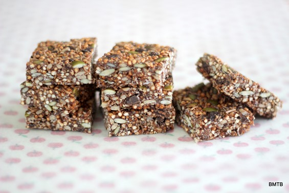 Puffed Quinoa Snack Bars by Baking Makes Things Better
