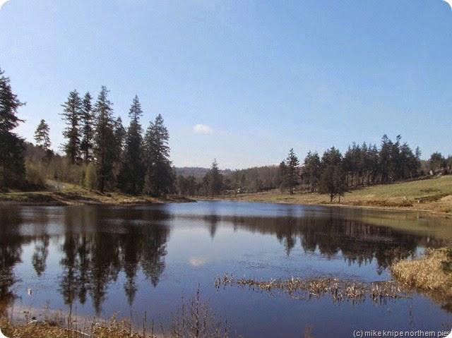 lake in cragside
