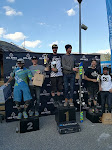 Podium Ski2Ride Les Ars 2017