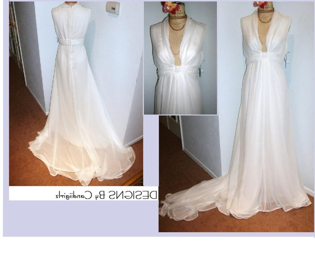 Custom Made Grecian Drape