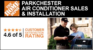 Home Depot air conditioner sales and installation