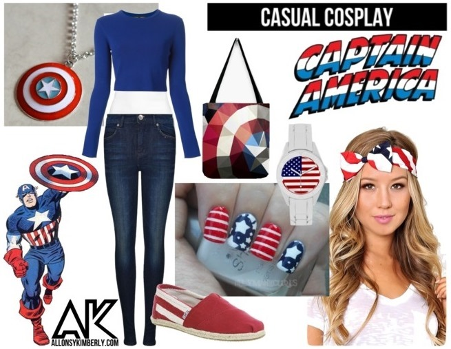 Casual Cosplay: Captain America | allonsykimberly.com