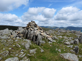 Thunacar Knott Summit cairn.