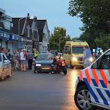 Motorrijder gewond na botsing met auto - Foto's Dennie Gaasendam