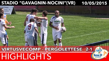 VirtusVecomp - Pergolettese - Highlights del 10-05-2015