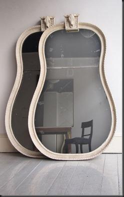 guitarra espejo