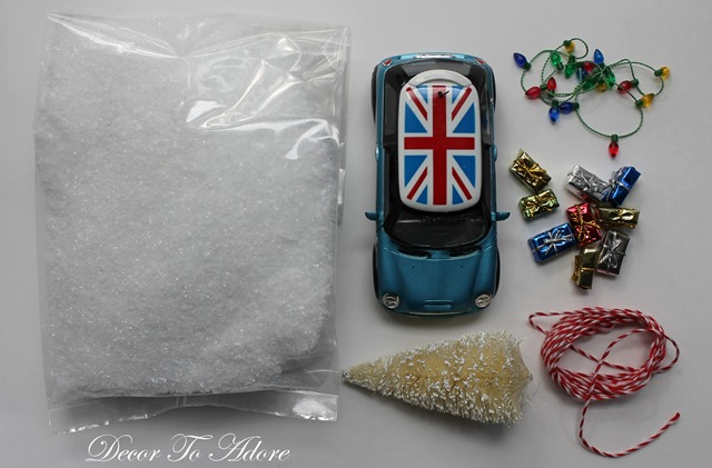 Christmas Car DIY Kit 005-001