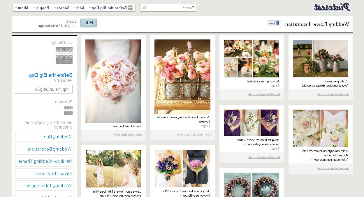 Wedding Inspiration Boards on