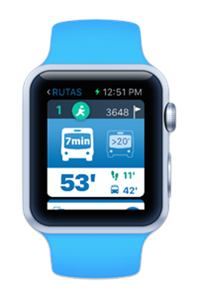 Nueva app 'EMT Madrid Watch' para Apple Watch