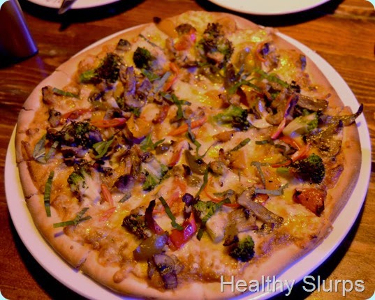 Thai Curry Veg Pizza