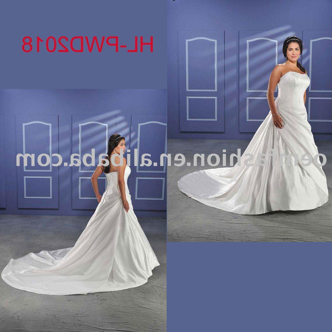 Buy plus size bridal dress,