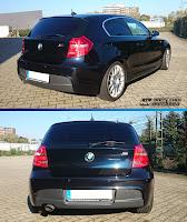 Scheibentönung-1er BMW