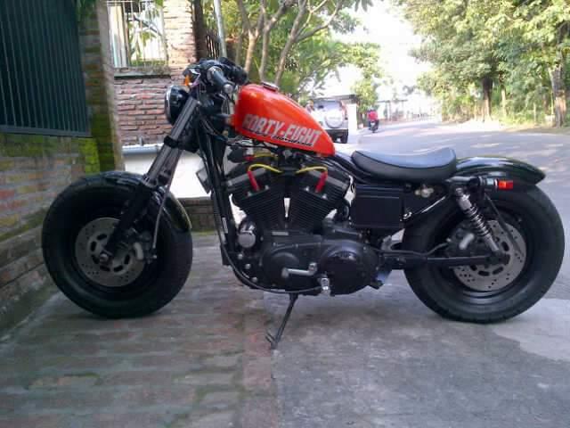 HD Sporster modift 48 basic 883 th 2001