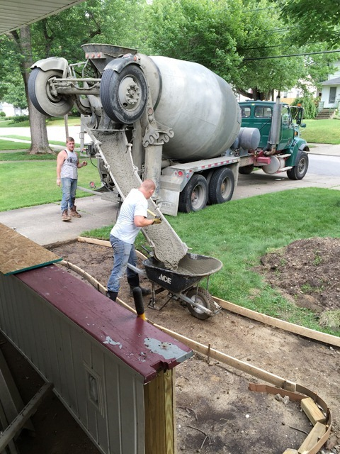 Unloading-Concrete