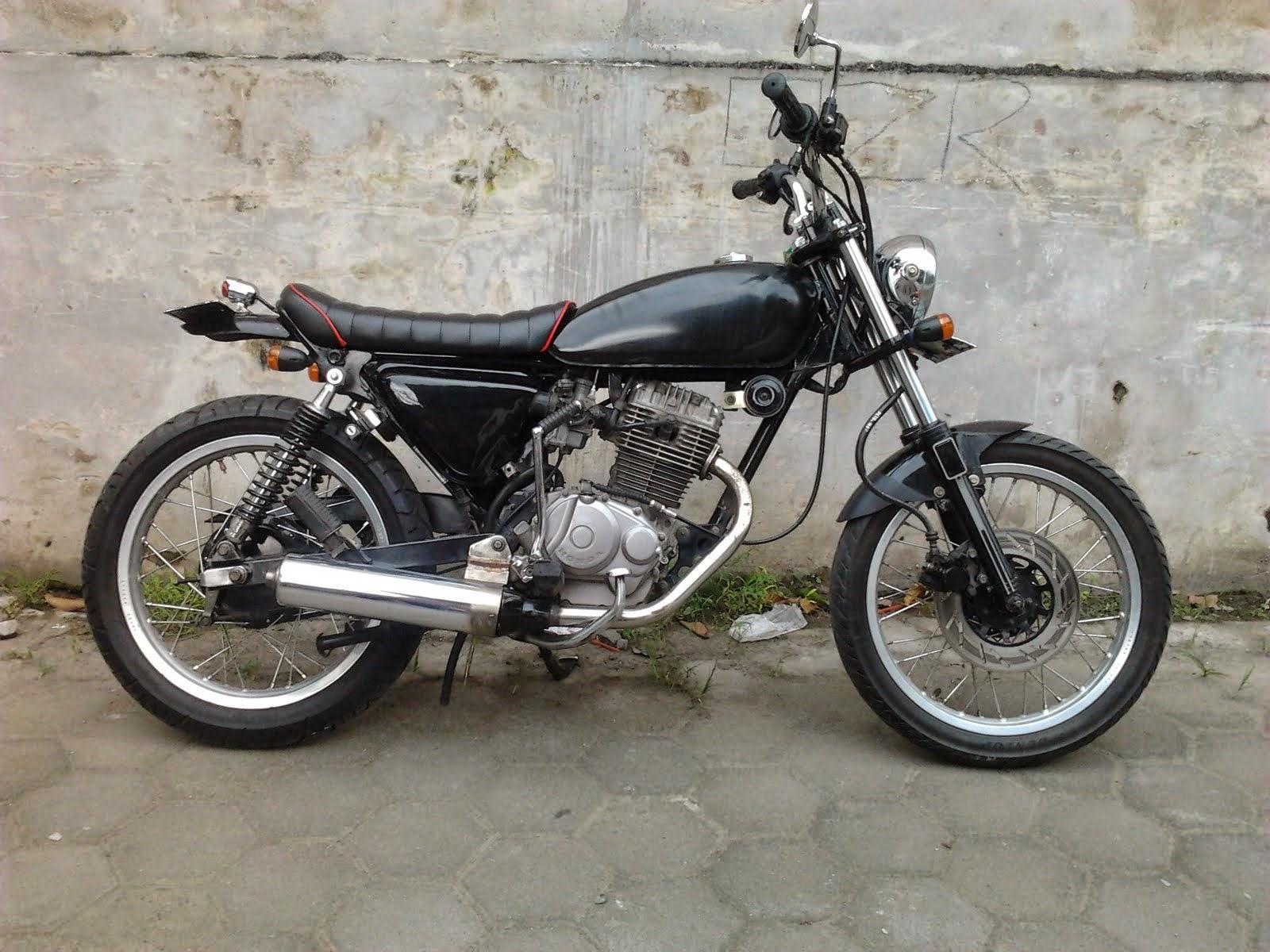 Jual Motor Modifikasi Honda Gl Pro Combo Modifikasi