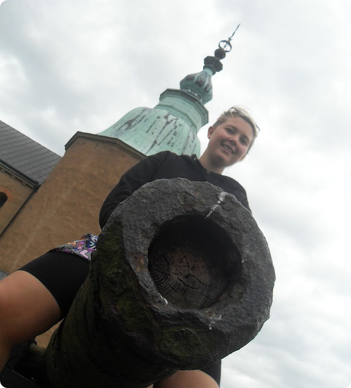 Emilie - Kalmar Slot - sommerferie 2015