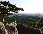 The summit of Sugarloaf Mountain, near Barnesville, Maryland.