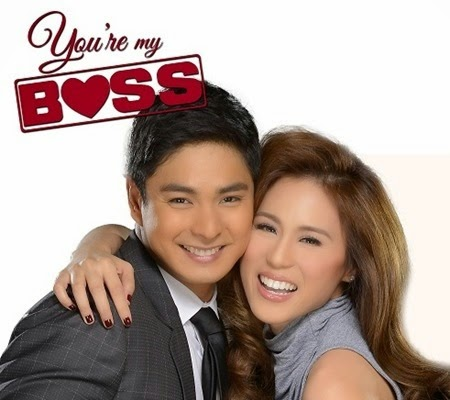 Coco Martin and Toni Gonzaga for You're My Boss