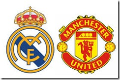 real madrid manchester united