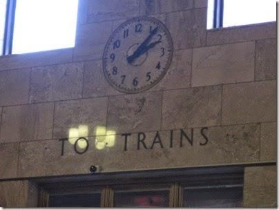 IMG_0773 Clock inside Union Station in Portland, Oregon on May 10, 2008