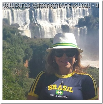Lily Catarata de Iguazú
