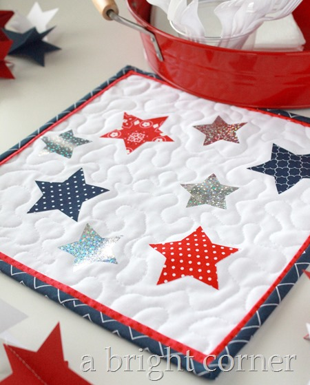 star table topper tutorial