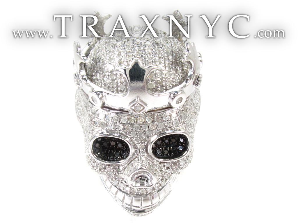 Silver Diamond Ring 1