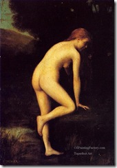 4-The-Bather-nude-Jean-Jacques-Henner