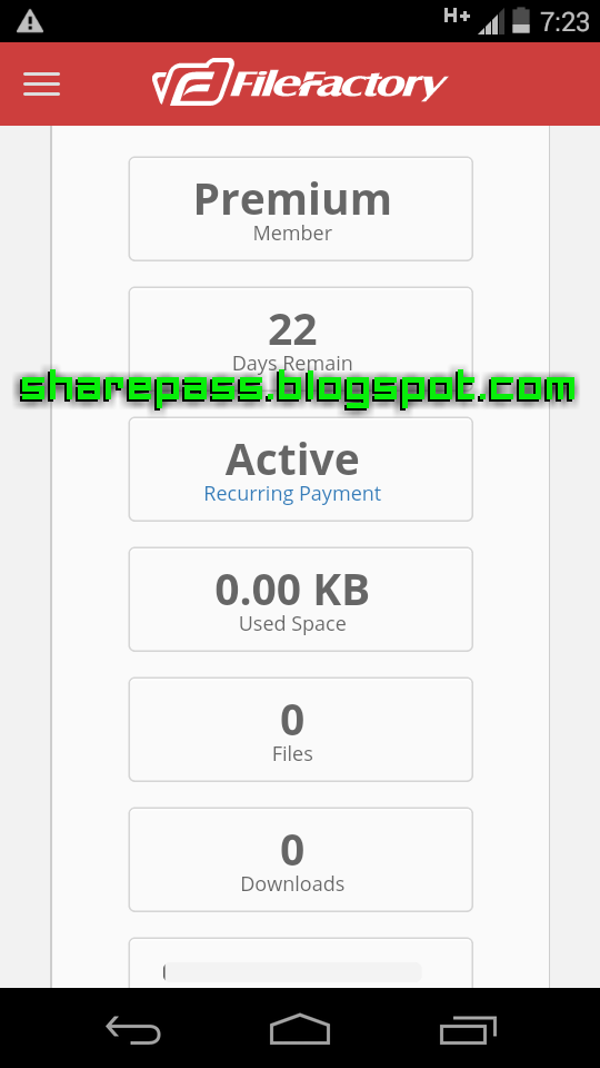 FILEFACTORY.COM PREMIUM ACCOUNT - HACKPREMIUM - CLASH ROYALE HACK