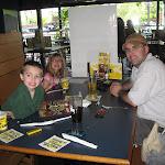 Bryan,Hannah and Jeff at Buffalo Wild Wings in FL 06032011