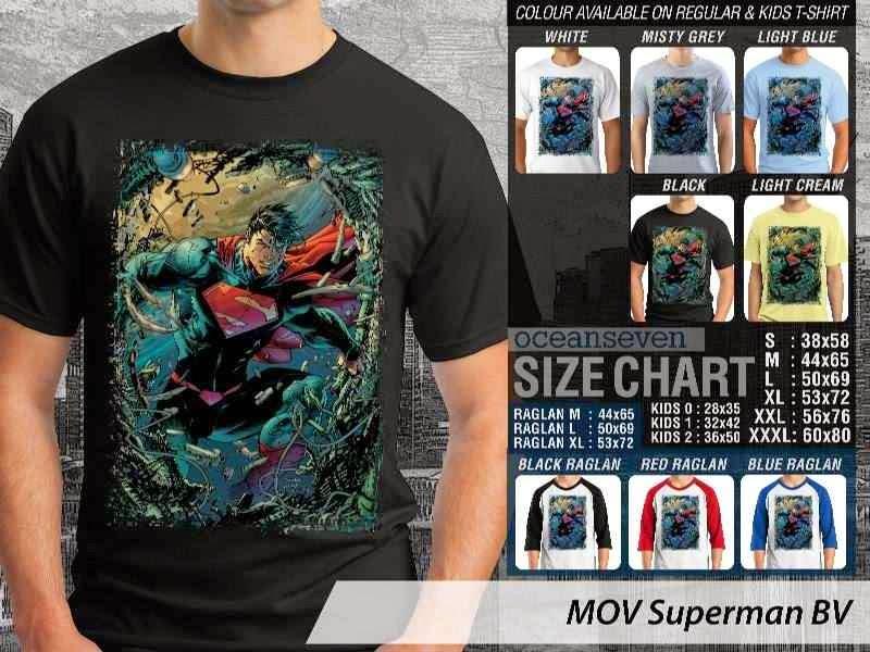 Kaos ie Superman Superman distro ocean seven