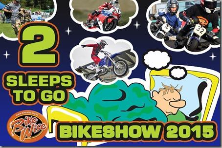 Bikewise Countdown (2 sleeps) Graphic