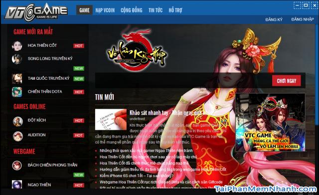 tải vtc game launcher phần mềm chơi game