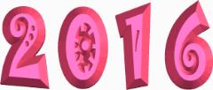 цифры 2016